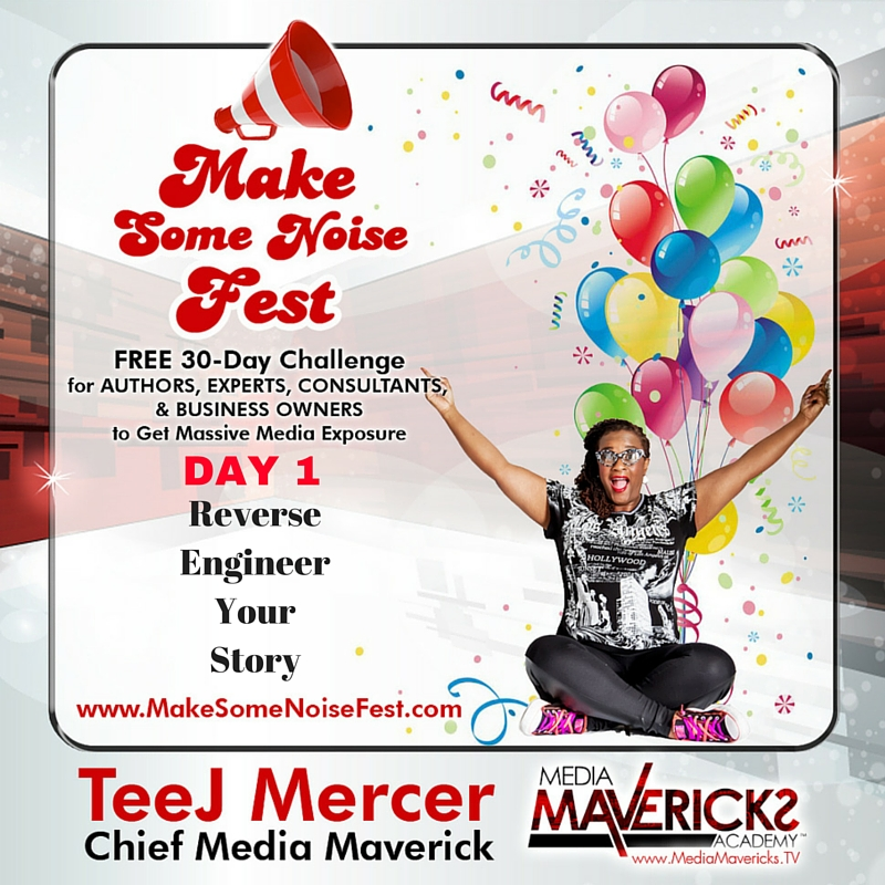 DAY 1-Reverse Engineer Your Story
